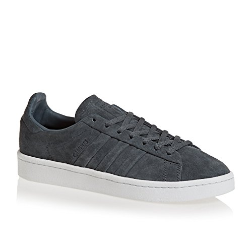 adidas Campus Stitch and Turn, Scarpe da Ginnastica Basse Donna Grigio (Onix/Gold Metallic)