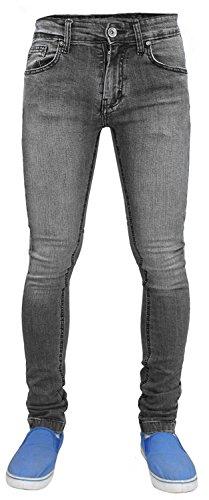 Pantalón True elástico Grey Face para ajustado Tf021 hombre r4rAwxn