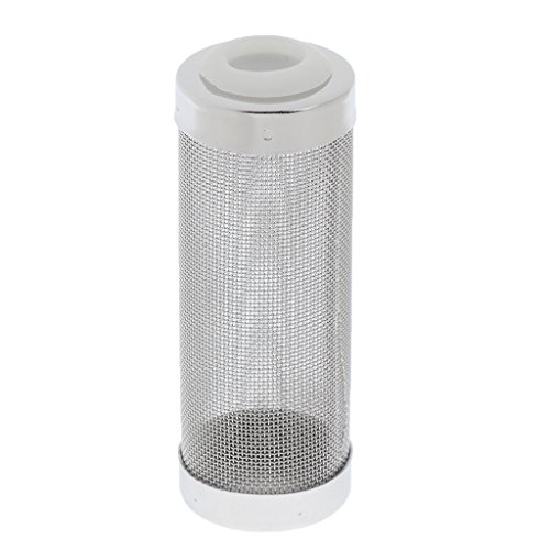 Stainless Steel Flow Fish Filter Guard Net Shrimp Safe Protect Basket Mesh 12mm by Generic