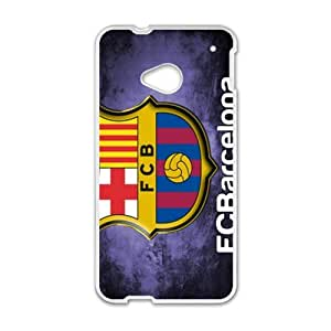 Happy FCB Logo Design Fashion Comstom Plastic case cover For HTC One M7