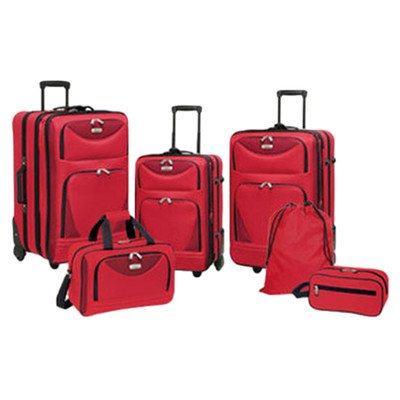 Travelers Club Sky View Collection- 6pc EVA Expandable  s...