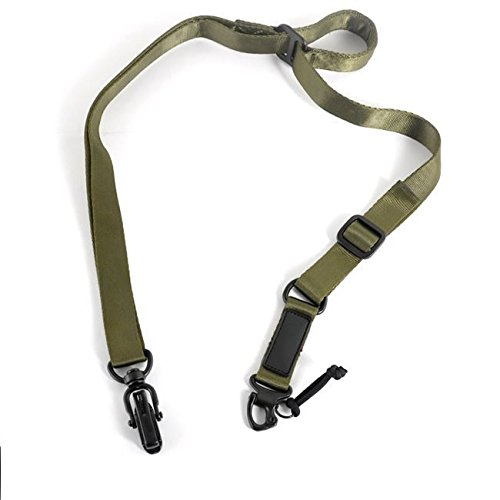 OD Green Tactical (All Metal Clips) Rifle Gun Strap for MSA RSA ASAP