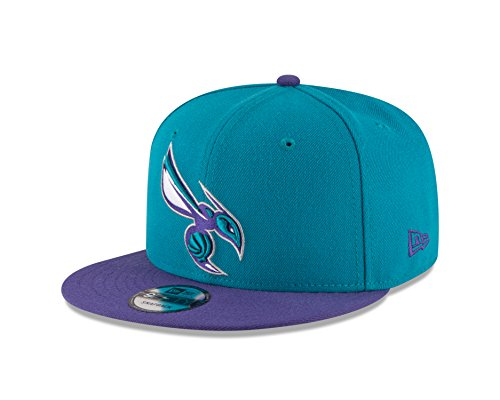 New Era NBA Charlotte Hornets Adult Men NBA 9Fifty 2Tone Snapback ()