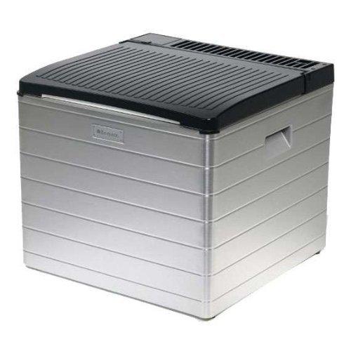Dometic CombiCool RC 2200 EGP, lautlose, elektrische Absorber-Kühlbox aus Aluminium mit Gas-Anschluss 30 mbar, 40 Liter, 12 V und 230 V für Auto, Lkw und Steckdose