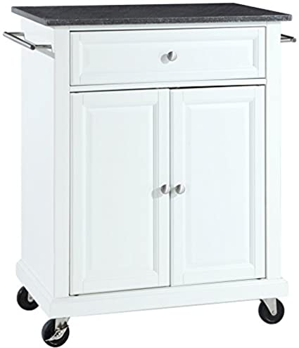 Amazoncom Crosley Furniture Cuisine Kitchen Island With Solid