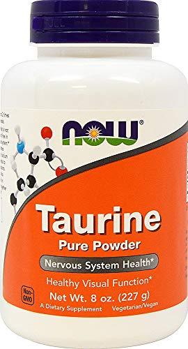 NOW Foods - Taurine Powder - 8 oz.
