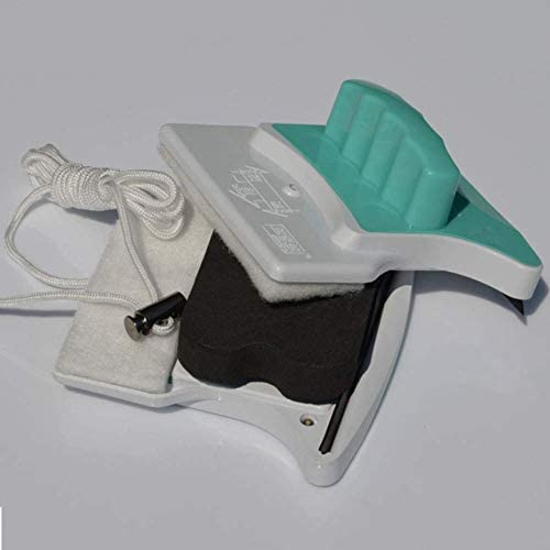 yunyu Nettoyant magnétique pour vitres, nettoyant magnétique pour vitres Double Face, sans Angle Mort, Facile à Nettoyer pour Verre épais de 15 à 22 mm, essuie-Glace magnétique
