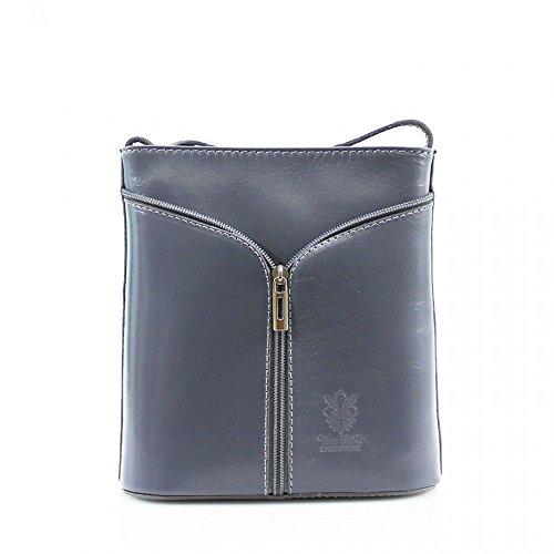 Cuerpo D7cm grey Cwv0026 Moda Diseñador De X l Italian Pequeñacalidad Bolsa Leahward® Mujeres H20cm Cruzado Señoras Cuero W18cm zwqCPFT