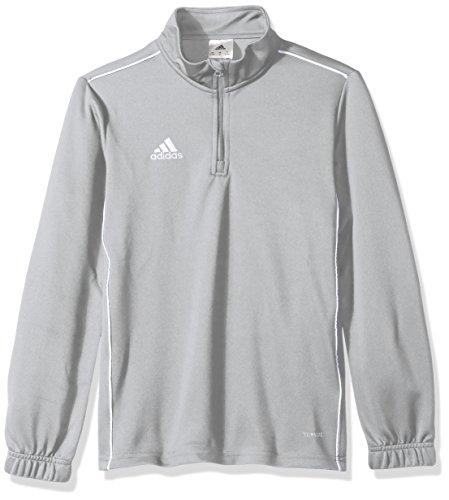 adidas Unisex Youth Soccer Core18 Training Top, Stone/White, X-Large