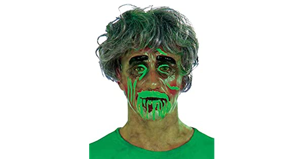 Amazon.com: Biohazard Careta transparente hombre adulto ...