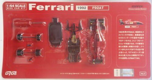 DY DO ダイドー 1/64スケール ミニカーキット Ferrari フェラーリ 1992 F92AT(非売品:懸賞品)外袋付