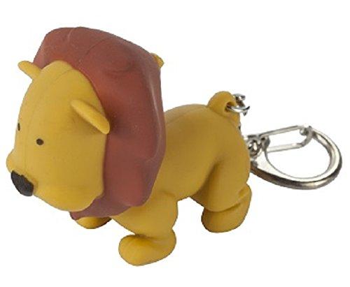 Regatta Kids Animal Keyring Torch - Lion Tan