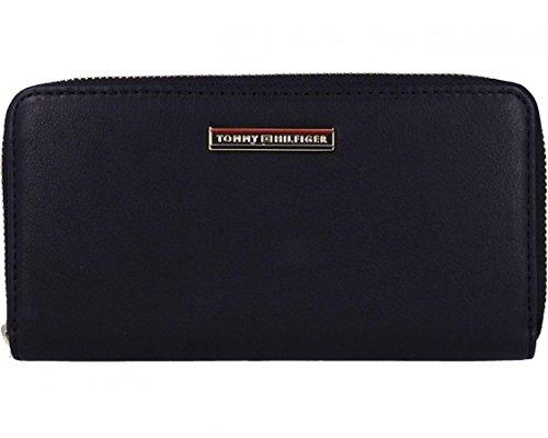 Tommy Hilfiger Jacqueline Large ZA Wallet Black Amazoncouk - Porte monnaie tommy hilfiger