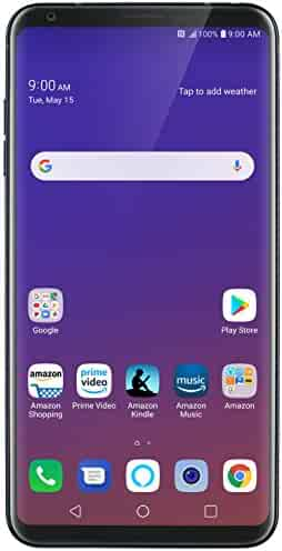 LG V35 ThinQ – 64 GB – Unlocked (AT&T/T-Mobile/Verizon) – Aurora Black – Prime Exclusive Phone