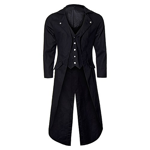 Banned Unisex-adult's Frock Tail Coat - Small, - Edwardian Steampunk