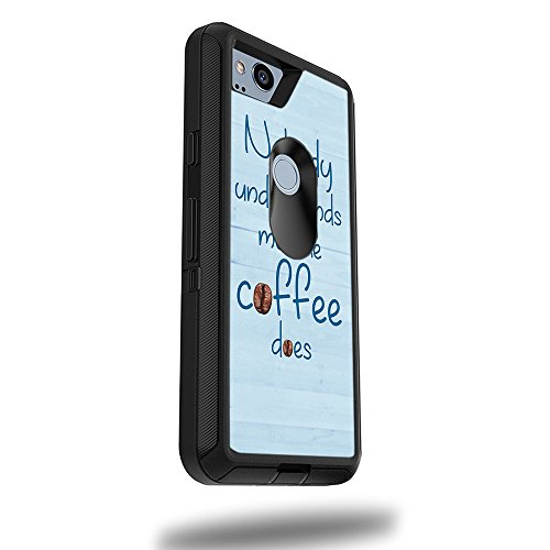 """Price comparison product image Skin for OtterBox Defender Google Pixel 2 XL 5.5"""" Case - Coffee Understands Me