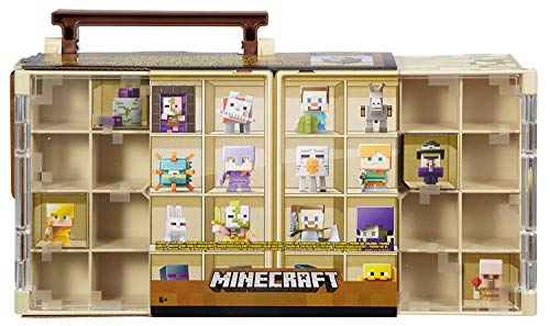 Minecraft Collector Case & 10 Mini Figures