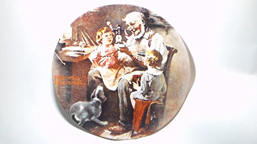 Norman Rockwell Christmas Plate - 8