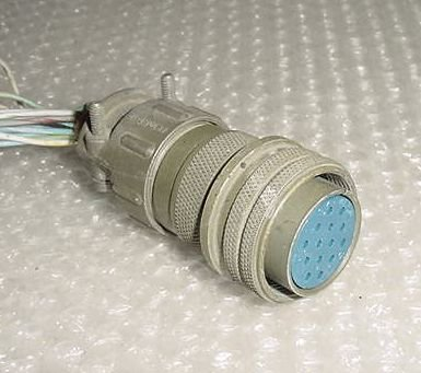 MS3106A20-27S, Airplane Amphenol Cannon Plug Connector -Rev