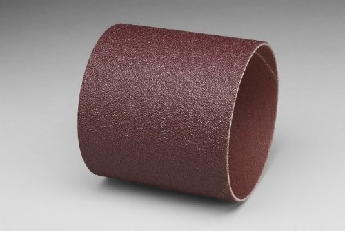 3M 341D Coated Aluminum Oxide Spiral Band - 50 Grit - 3 in Width - 3 in Dia - 3000 Max RPM - 20362 [PRICE is per CASE]