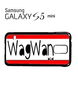 WagWan Blud Funky Mobile Cell Phone Case Samsung Galaxy S5 Mini White