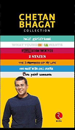 book cover of Chetan Bhagat 5 Books Set