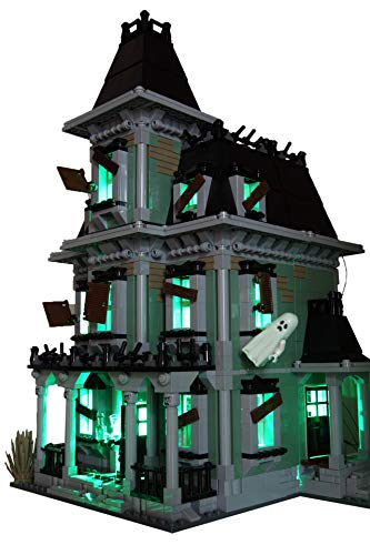 Brick Loot Lighting Kit for Your Lego Monster Haunted House Set 10228 Lego Set NOT Included