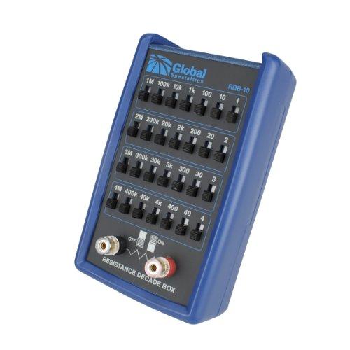 [해외]글로벌 특산품 RDB-10 저항 디케이드 박스, 0.3 옴/Global Specialties RDB-10 Resistance Decade Box, 0.3 ohm