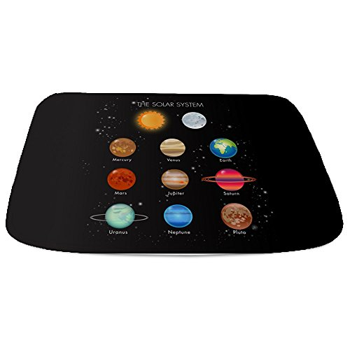 Bathmat Large Solar System Sun Moon and Planets by Royal Lion