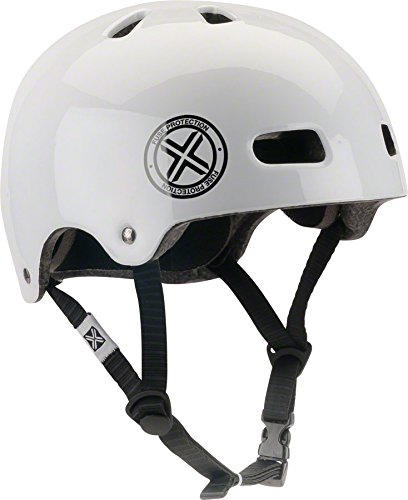 FUSE Protection Delta Scope Helm - Glossy Weiß   Weiss   L XL