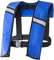 Galapare Life Jacket Vest,Inflatable Life Jacket Adult Life Vest Water Sports Swimming Fishing Survival Jacket