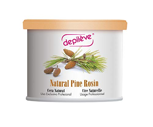 Natural Pine Rosin Wax - Depileve Strip Wax for Hair Removal -Pine Rosin Wax 14 oz -The