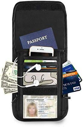 アニマル柄 パスポートホルダー セキュリティケース パスポートケース スキミング防止 首下げ トラベルポーチ ネックホルダー 貴重品入れ カードバッグ スマホ 多機能収納ポケット 防水 軽量 海外旅行 出張 ビジネス