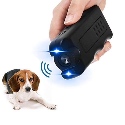 APlus+ Handheld Dog Repellent, Ultrasonic Infrared Dog Deterrent, Bark Stopper + Good Behavior Dog Training from APlus+