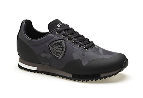 Grigio Grigio Camoscio Uomo Uomo Camoscio Blauer Blauer Sneakers Grigio Blauer Camoscio Sneakers Sneakers Uomo fEqn7Ixw