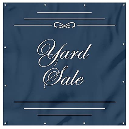 CGSignLab Holiday Sale 8x8 Chalk Banner Heavy-Duty Outdoor Vinyl Banner