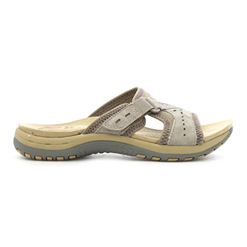 Earth Spirit Womens Grey Sporty Mule Grey JBEhyQUR