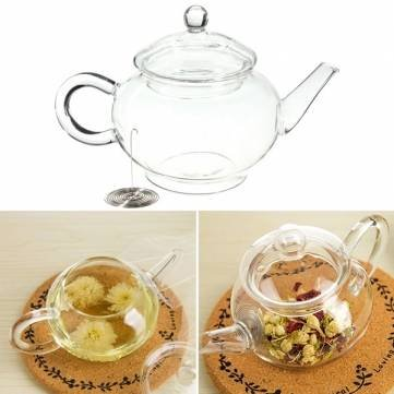 glass 250ml teapot - 4