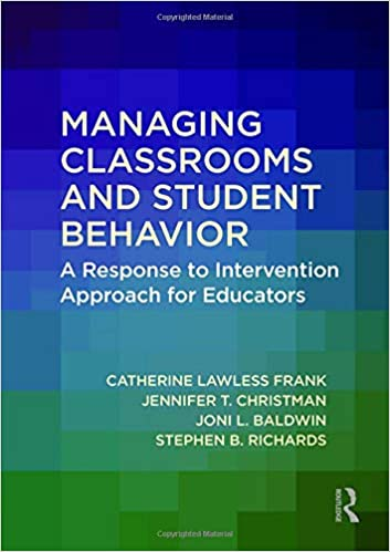 Rezultat iskanja slik za Managing classrooms and student behavior : a response to intervention approach for educators