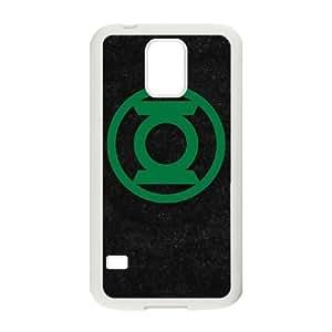 Green Lantern Logo Black Samsung Galaxy S5 Cell Phone Case White Exquisite gift (SA_680793)