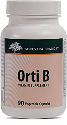 Genestra Brands - Orti B - Vitamin Complex with Eight B Vitamins for Good Health* - 90 Capsules