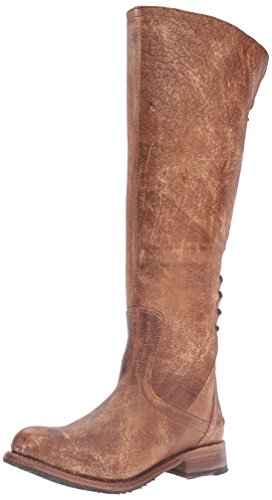 bed stu Women's Surrey Boot, Caramel Lux, 8 M (Boot Caramel)