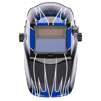Lincoln eléctrica k3064 – 1 sombra oscurecimiento automático casco de soldadura, pantalla variable 9 –