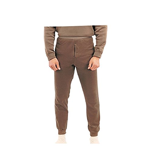 Rothco Ecwcs Poly Bottoms, Brown, Large