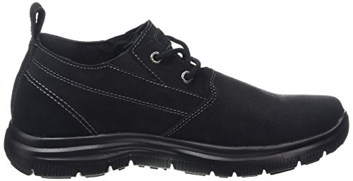 Skechers Heren Relaxed Fit Hinton Zwart