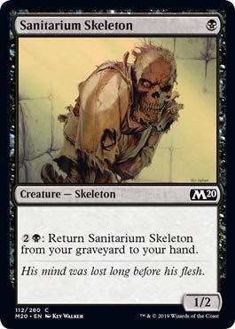 Magic: the Gathering - Sanitarium Skeleton - Scheletro del ...