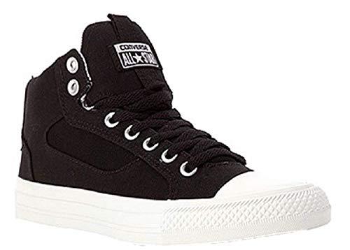 r All Stars Asylum Mid Skate Shoes (8 D(M) US, Black/White) ()
