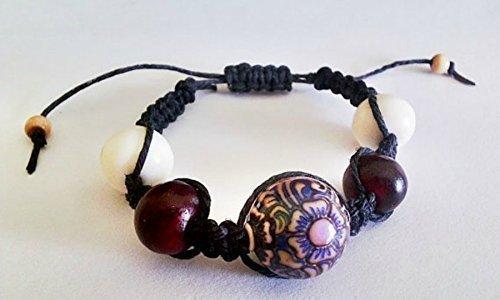 shangri-la-mood-bead-hemp-bracelet-bone-horn-and-wood-beads-macrame-jewelry-adjustable-clasp-bohemia