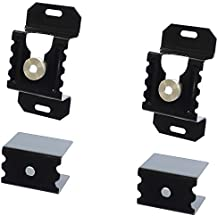GOSO Flat Screen TV Mounting Bracket Kit Hardware, Low Profile 1.5 inch Distant from Wall, Fits all TV's from 10 to 72 inches
