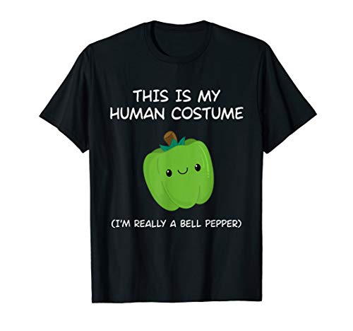 Halloween Bell Peppers (This is my halloween costume I'm really a Bell Pepper)
